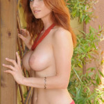 Lisa K fotomodella russa in topless
