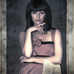 Bianca fotomodella italiana