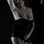 Crystal fotomodella laziale in topless