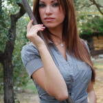 Modella toscana Cristina