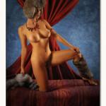 Lisa K fotomodella russa nuda