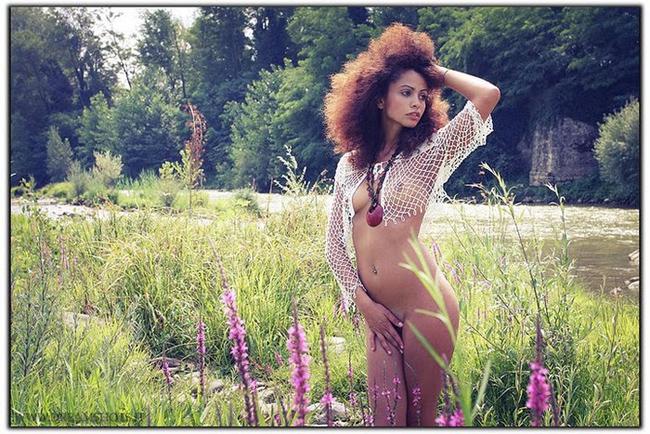 Daniele modella nudo Firenze