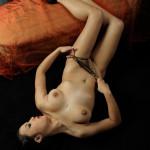 Luna fotomodella nudo toscana