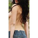 Rose modella nudo toscana