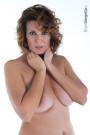 Crystal modella nudo Latina